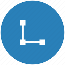 dots, draw, form, graph, path, tool icon