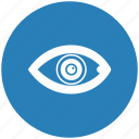 biometry, eye, eyeball, form, pupil icon
