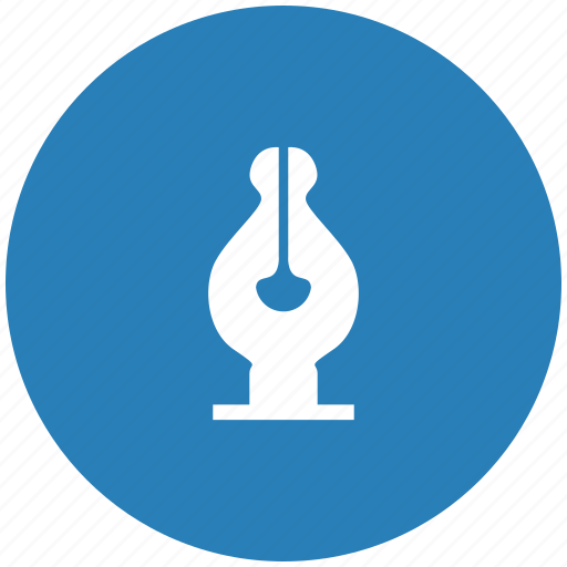 draw, feather, form, instrument, pen, tool icon