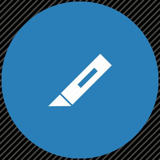 cut, edit, form, image, knife, tool icon