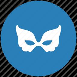 face, form, lady, mask, secret icon