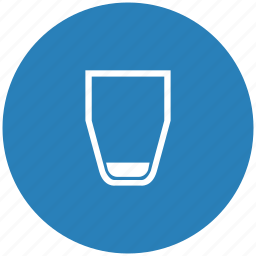 form, glass, level, low, water icon