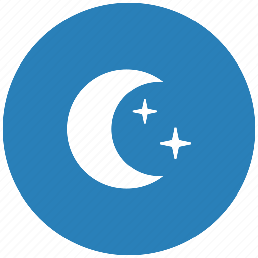 form, mode, moon, night, sky, stars icon