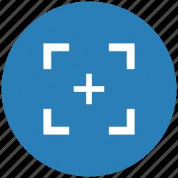aim, army, form, frame, target icon