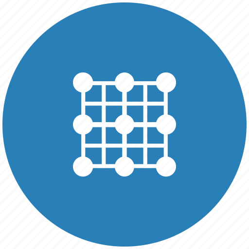 form, grid, image, picture, transform icon
