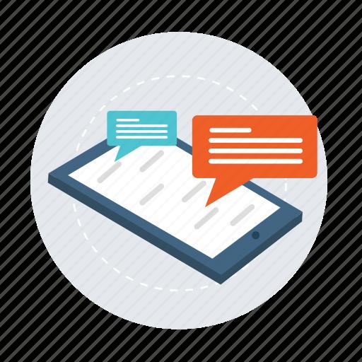 bubble, chat, communication, conversation, email, message, talk icon
