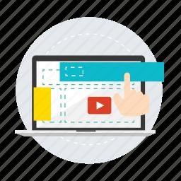 code, coding, development, ecommerce, optimization, seo, web icon