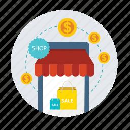 cash, finance, money, payment, sale, shop, shopping icon