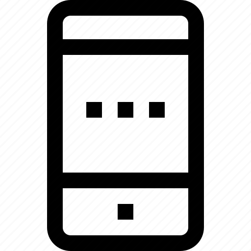 business, device, feature, management, mobile, process, smartphone, technology icon