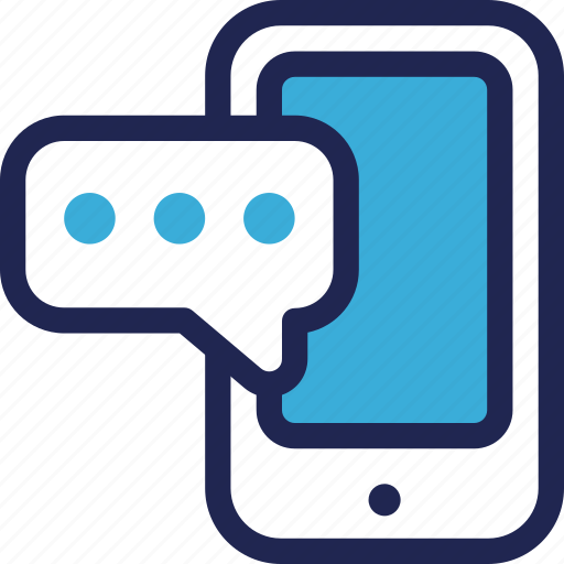 chat, communication, features, message, mobile, phone, smartphone icon