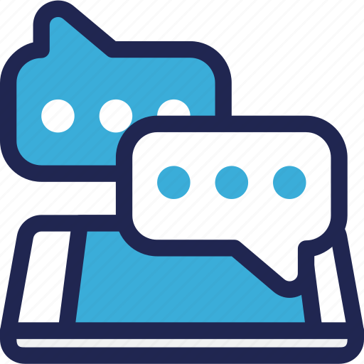 bubble, chat, communication, features, message, phone, smartphone icon