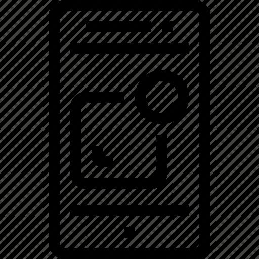 alram, development, device, mobile, smart phone, ui, ux icon