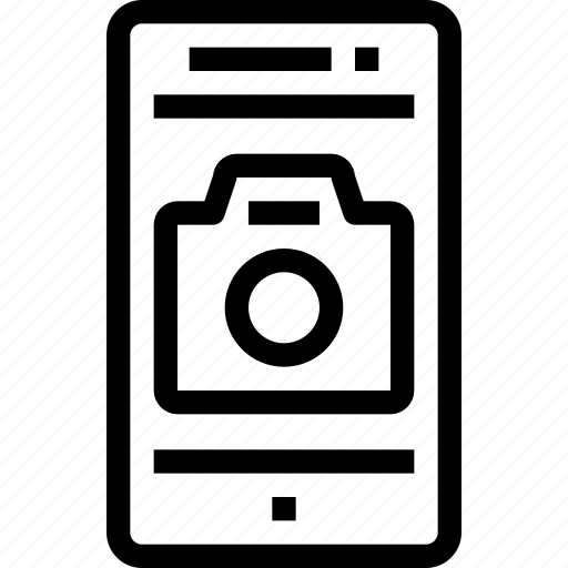 camera, device, media, mobile, photo, smart phone, video icon