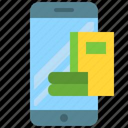 app, books, ebook, gallery, mobile, phone, smartphone icon