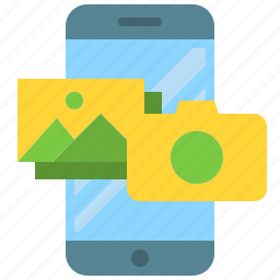 app, camera, gallery, image, mobile, photography, smartphone icon