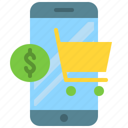 app, e-commerce, mobile, phone, shopping, smartphone, store icon