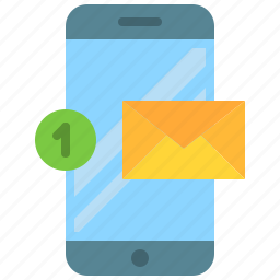 app, email, mobile, new, phone, smartphone icon
