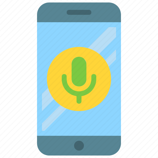 app, audio, microphone, mobile, phone, record, smartphone icon