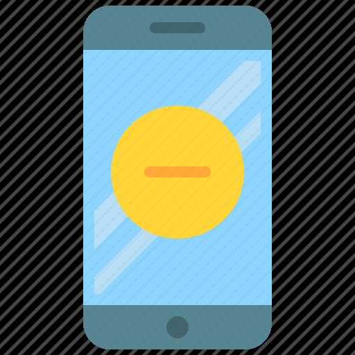 app, delete, mobile, phone, remove, smartphone icon