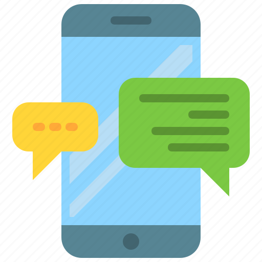 app, conversation, message, mobile, smartphone, text, typing icon