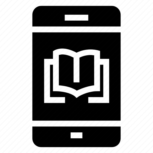 book, cell, device, iphone, mobile, phone, smartphone icon