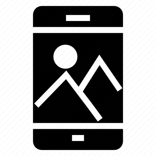 cell, device, image, iphone, mobile, phone, smartphone icon