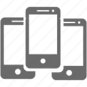 device, mobile, set, smartphone icon