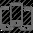 mobile, set, smartphone, device