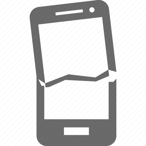 crash, device, mobile, smartphone, technology icon