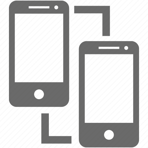 bluetooth, connection, dlna, mobile, pair, phone, smartphone icon