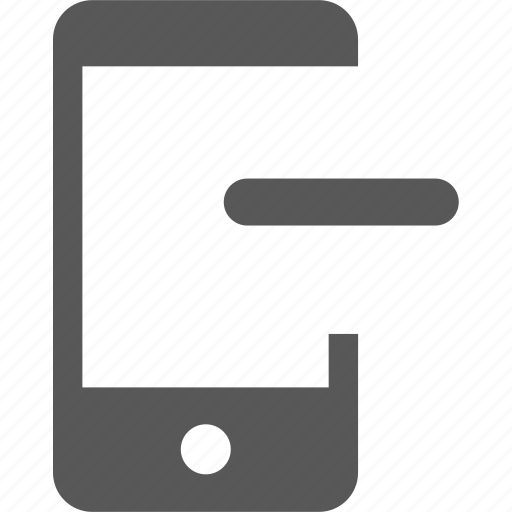 cancel, delete, device, minus, mobile, remove, subtract icon