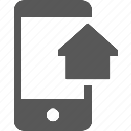admin, dashboard, device, home, house, mobile icon