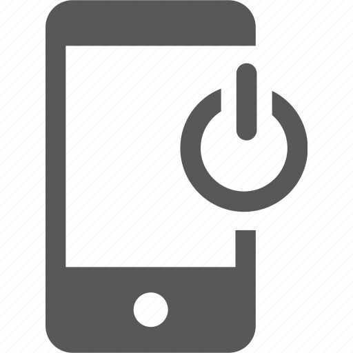 close, device, mobile, off, out, shut down, sign out icon