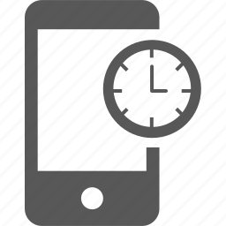 alarm, clock, hour, mobile, time, timer, watch icon