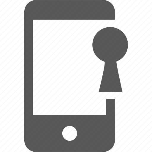 device, key, lock, mobile, password, protect, security icon