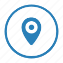 geo, mobile, navigation, phone, place, tag icon