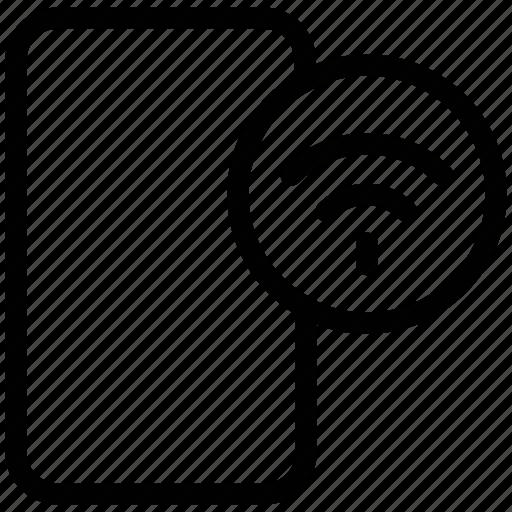 internet, mobile, multifunctional, portable, wifi icon