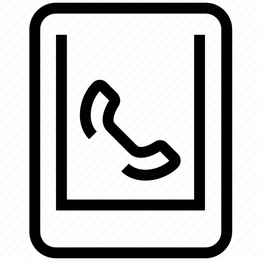 calls, communications, mobile, service icon