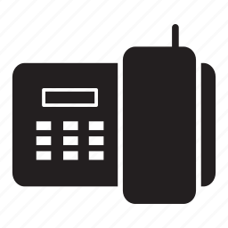 call, home, house, old-fashioned, phone icon