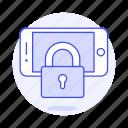phone, mobile, smartphone, locked, security, lock
