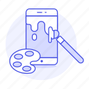 app, art, media, mobile, painting, phone, smartphone