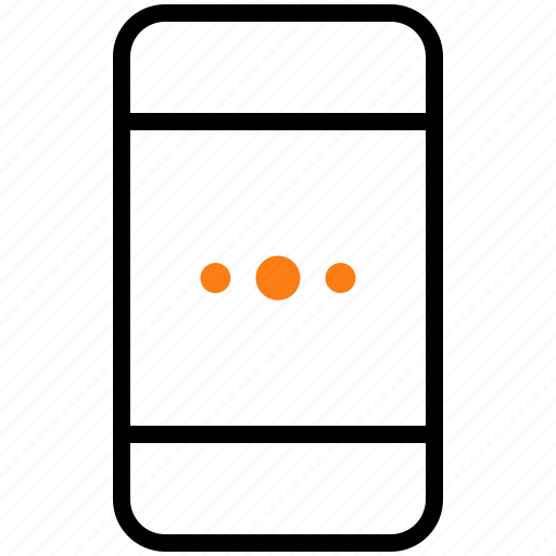 device, gadget, loading, mobile, phone, screen icon