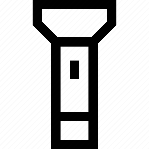 light, mobile, phone, torch icon