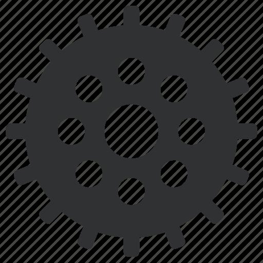 cogwheels, gear, interlink, interlocked, mechanics, tool, tools, wheels icon