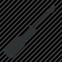 object, repairing, restoring, screwdriver, tool, tools icon