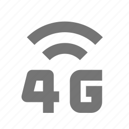 4g, signal icon