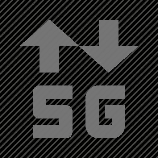 5g, arrows icon