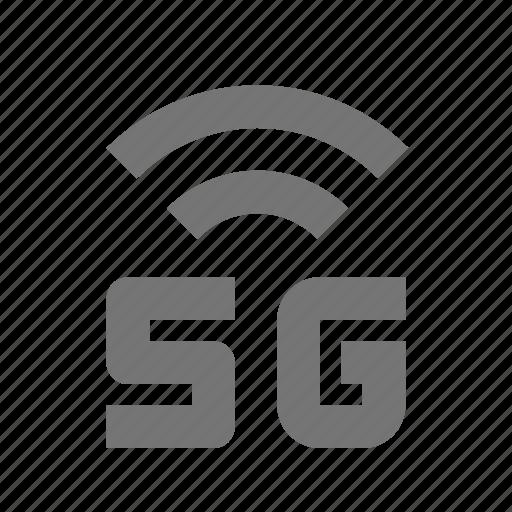 5g, signal icon