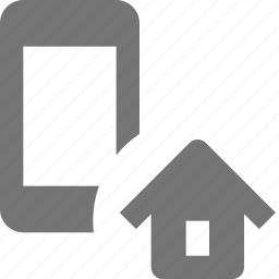 home, house, phone, smartphone, telephone icon