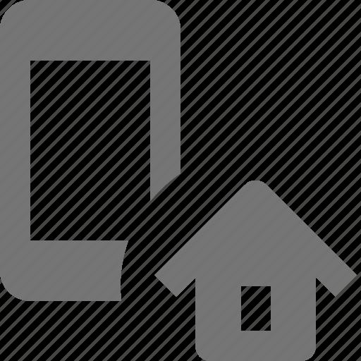home, house, phone, smartphone, telephone icon